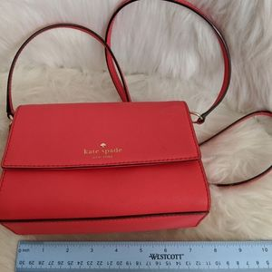 Red/coral purse - Kate Spade